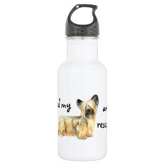 Rescue Skye Terrier Water Bottle