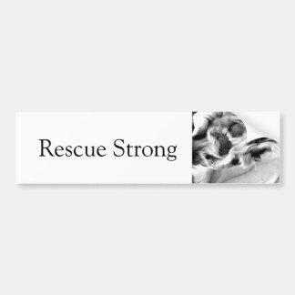 Rescue Strong Bumper Sticker