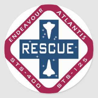 Rescue STS-400 Round Stickers