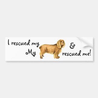 Rescue Sussex Spaniel Bumper Sticker