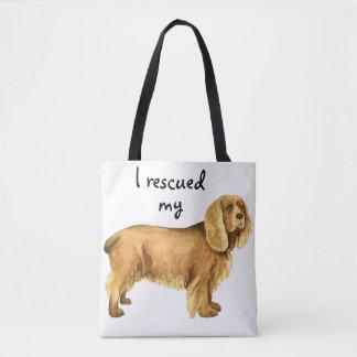Rescue Sussex Spaniel Tote Bag