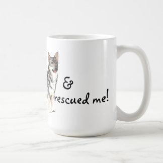 Rescue Swedish Vallhund Coffee Mug