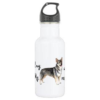 Rescue Swedish Vallhund Water Bottle