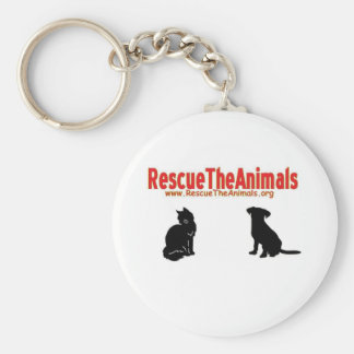 Rescue The Animals non-apperal Keychain