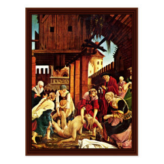 Rescue The Corpse Of St. Sebastian Postcard
