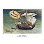 Rescue The Sailors By Gentile Da Fabriano Postcards