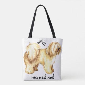 Rescue Tibetan Terrier Tote Bag