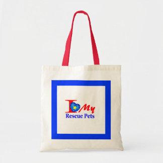 """Rescue Tote Bag """"FarmersMarketArts"""""""