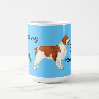Rescue Welsh Springer Spaniel Coffee Mug