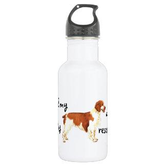 Rescue Welsh Springer Spaniel Stainless Steel Water Bottle