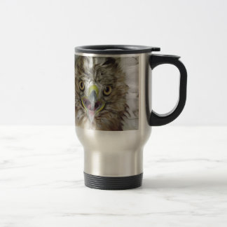 Rescued and Released Hawk Travel Mug