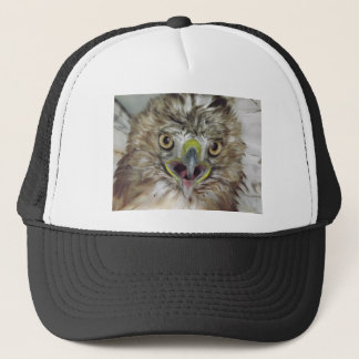 Rescued and Released Hawk Trucker Hat