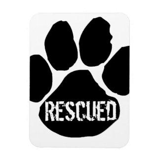 Rescued Car Magnet - Large