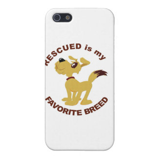 Rescued Dog Breed Cover For iPhone SE/5/5s