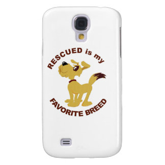 Rescued Dog Breed Galaxy S4 Covers