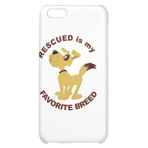 Rescued Dog Breed iPhone 5C Case