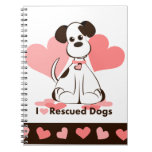 Rescued Dog Notebook