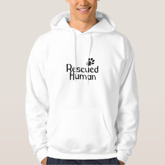 Rescued Human Dog Lover Pullover