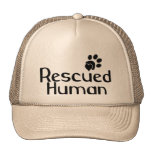 Rescued Human Dog Lover Trucker Hat