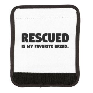 Rescued is my Favorite Breed Handle Wrap
