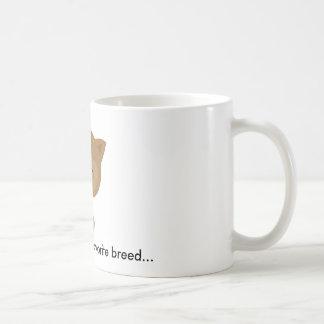 """""""RESCUED"""" is my favorite breed MUG"""