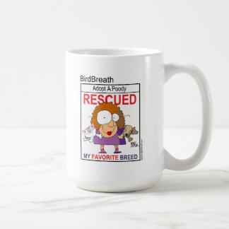 Rescued Is My Favorite Breed T-Shirt Coffee Mug
