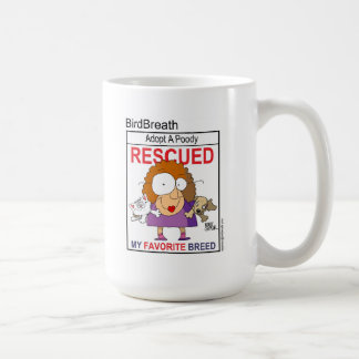 Rescued Is My Favorite Breed T-Shirt Mugs