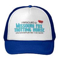 Rescued Missouri Fox Trotting Horse (Female Horse) Trucker Hat