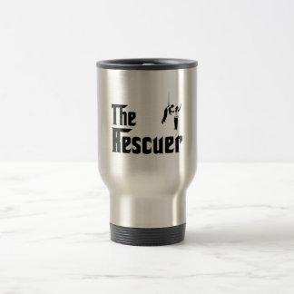 Rescued 15 Oz Stainless Steel Travel Mug