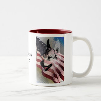 Rescued Pets and Vets Two-Tone Coffee Mug