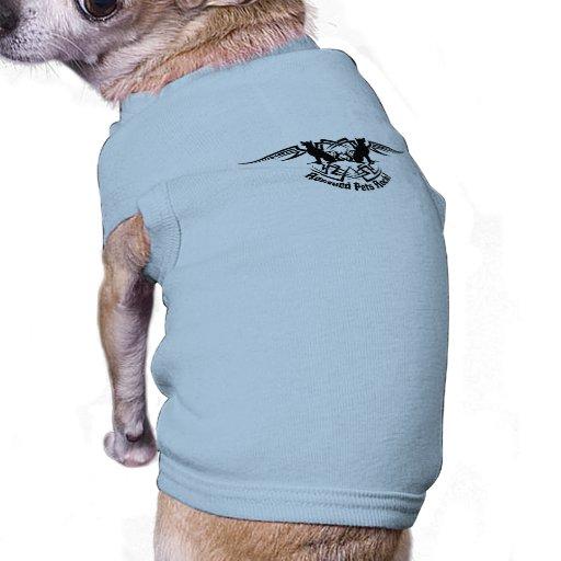 Rescued Pets Rock! Doggie Tribal Tattoo T-Shirt Pet Tee Shirt