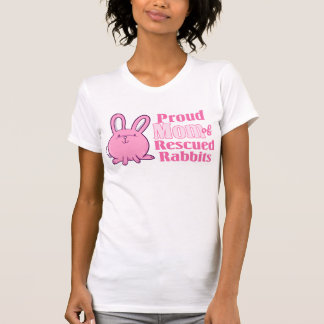 Rescued Rabbits Mom T-shirt