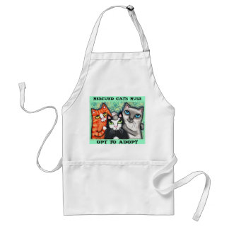 Rescued / Shelter Cat's Adult Apron