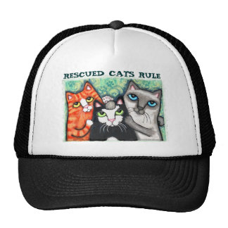 Rescued / Shelter Cat's Trucker Hat