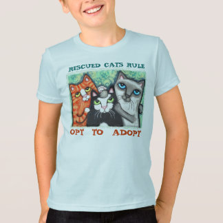 Rescued / Shelter Cat's T-Shirt