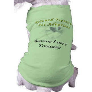 Rescued Treasures Pet Adoptions dog tee