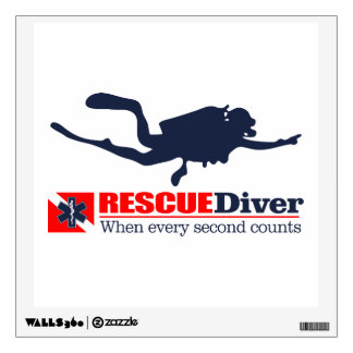 RESCUEDiver Wall Decal