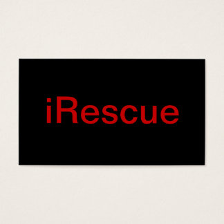 Rescuer Business Card