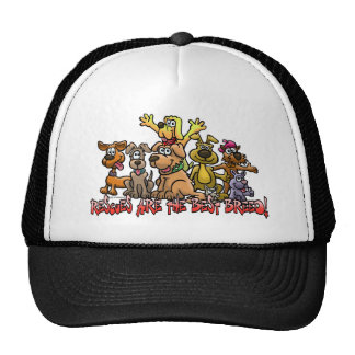 RESCUES ARE THE BEST BREED CAPS TRUCKER HAT