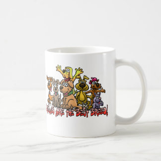 RESCUES ARE THE BEST BREED COFFE MUG CUP