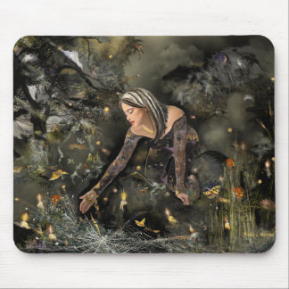 Rescuing  Butterflies! Mouse Pad