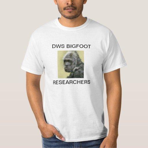 reseachers de Bigfoot de los dws Remeras