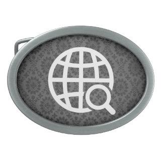 Reseaches global mínimo hebillas cinturon ovales