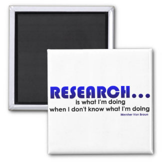 Research 2 Inch Square Magnet