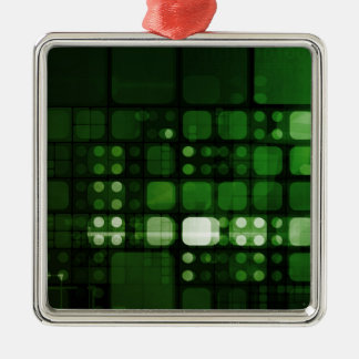 Research and Development in Science and Healthcare Metal Ornament