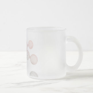 Research and Development in Science Frosted Glass Coffee Mug