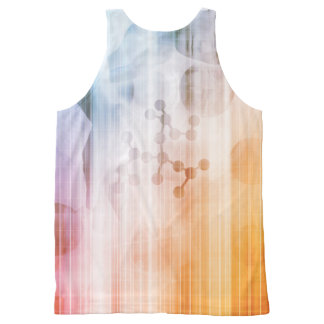 Research and Development with Doctor Viewing All-Over-Print Tank Top