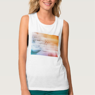Research and Development with Doctor Viewing Tank Top
