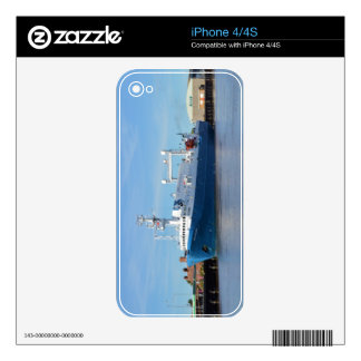 Research And Survey Vessel Sea Explorer Skins For The iPhone 4S