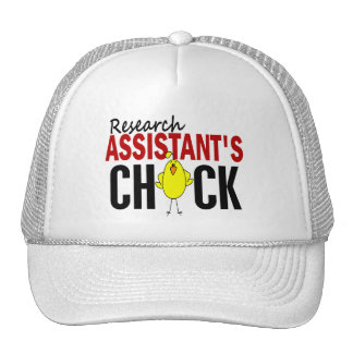 RESEARCH ASSISTANT'S CHICK TRUCKER HAT